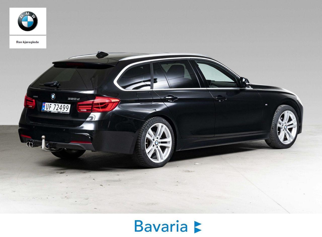 BMW 3 Serie 320d xDrive Touring aut 2020 black sapphire