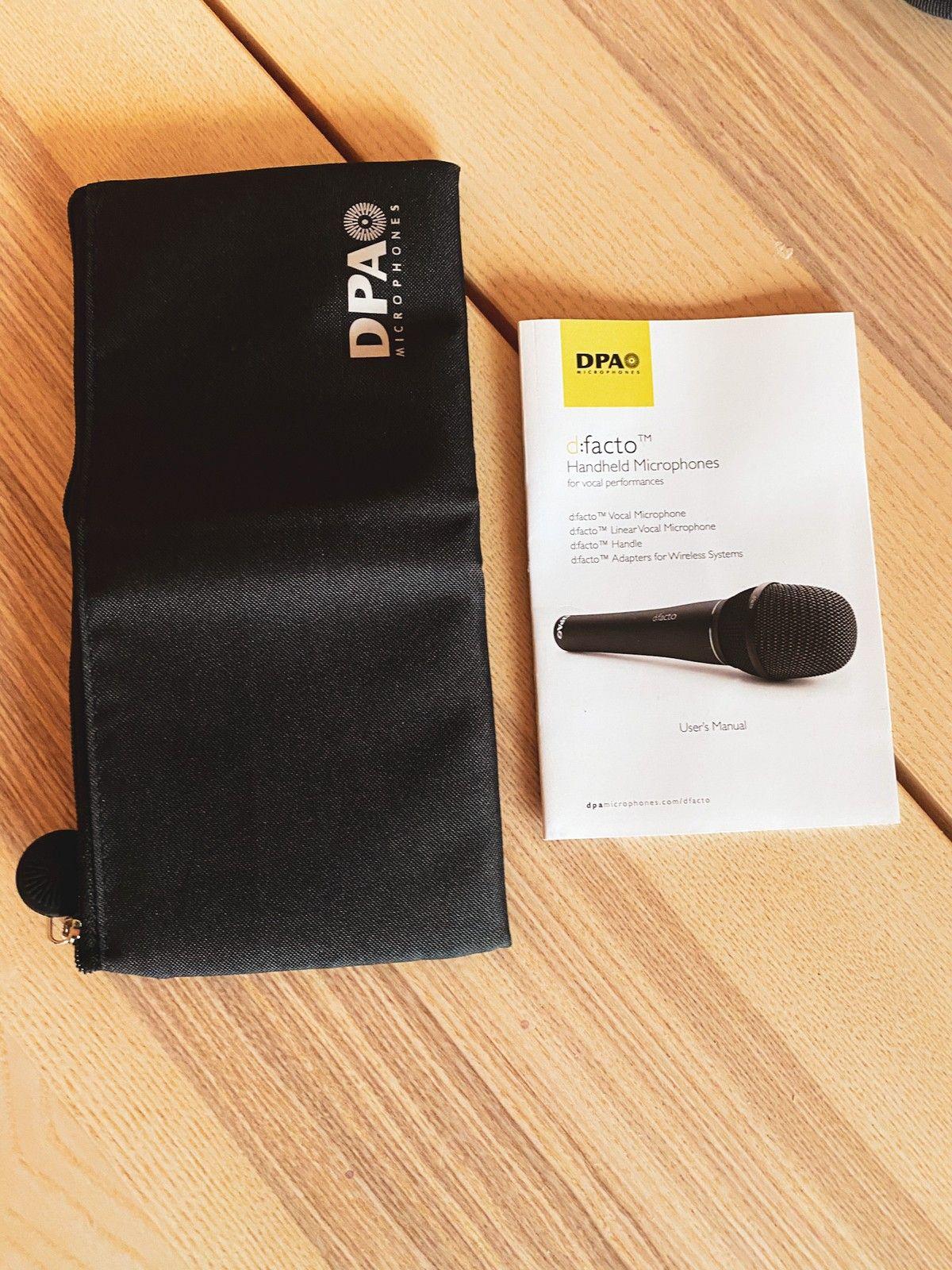 DPA d:facto Vocal Microphone Supercardioid | FINN.no