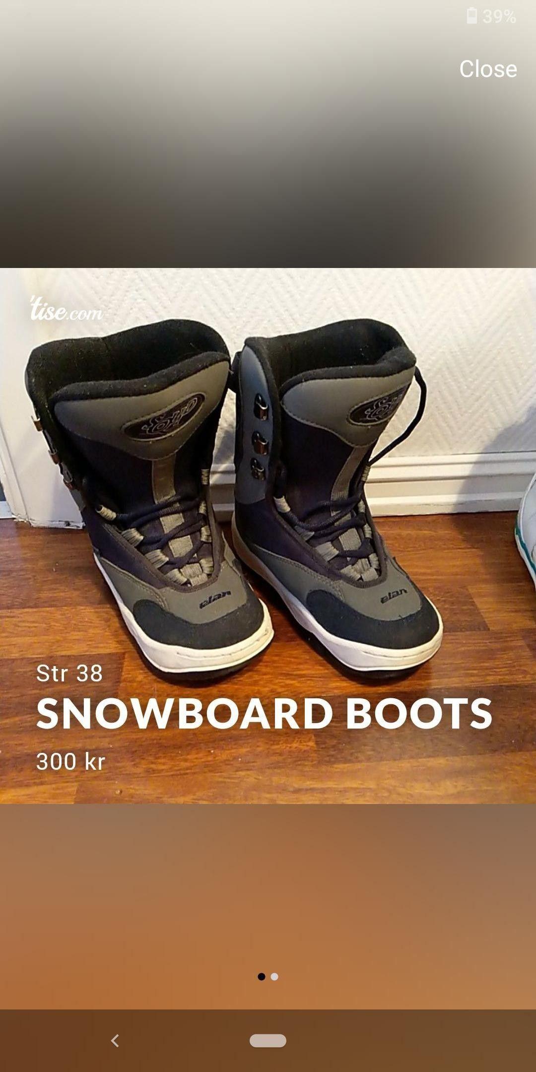 Snowboard støvler i str 42.5 | FINN.no