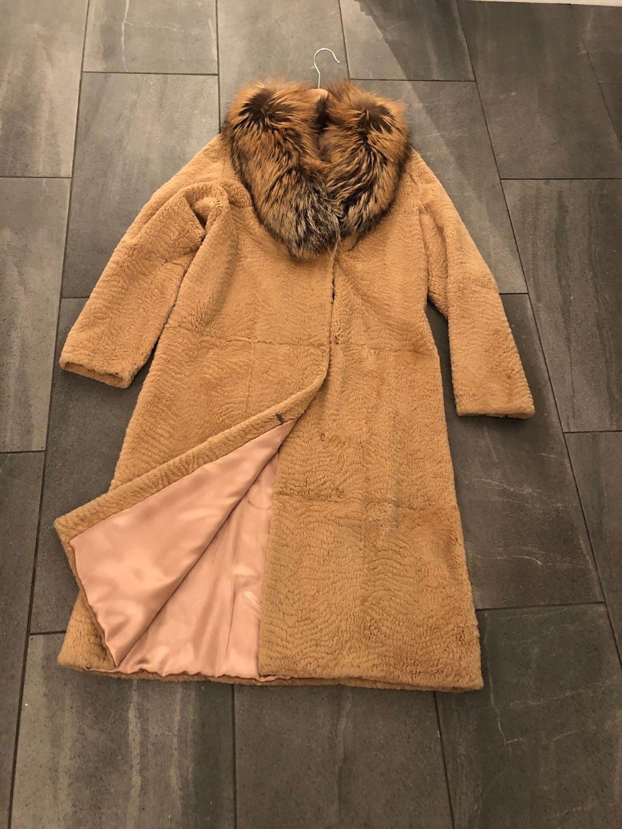 Nydelig pelskåpe jakke av ulv (ulvepels)   FINN.no