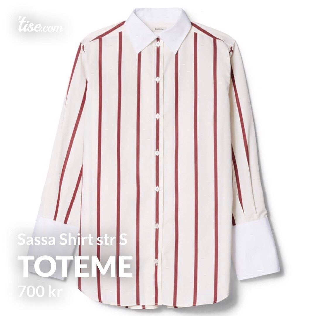 Toteme skjorte | FINN.no