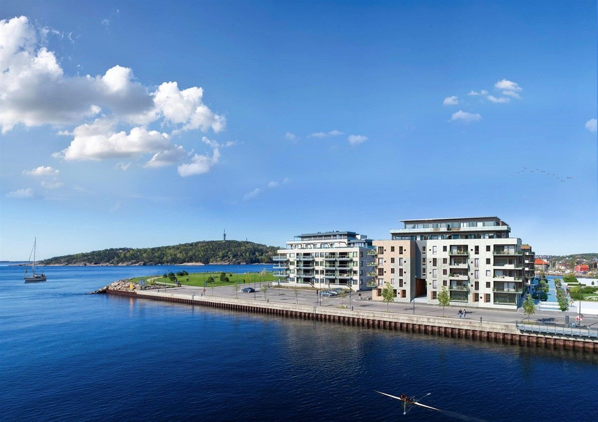 Bystranda Blå - trinn 1 - Bygg C og D, Kristiansand | Sørmegleren