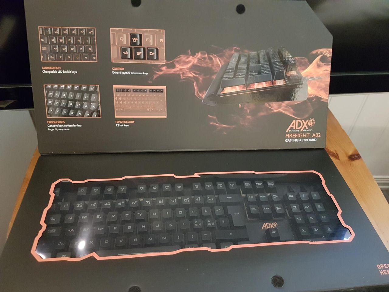 Gaming tastatur | FINN.no