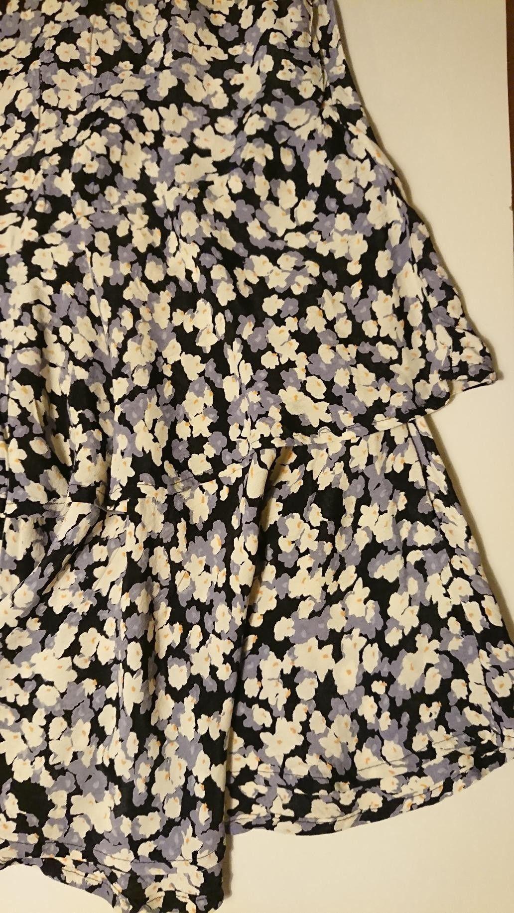 Blomstrete skjørt med kapper fra Match   FINN.no