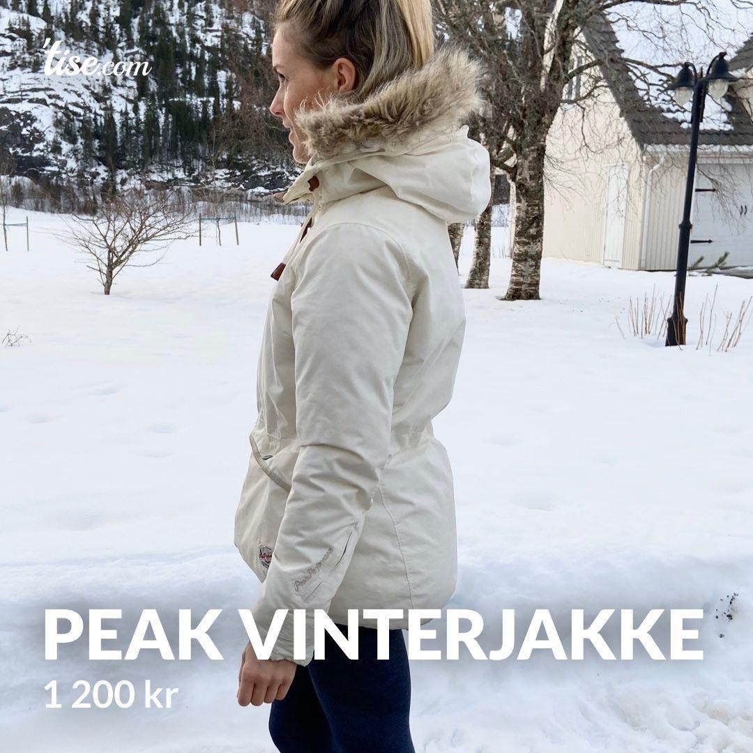 Peak Performance Vinterjakke selges. | FINN.no