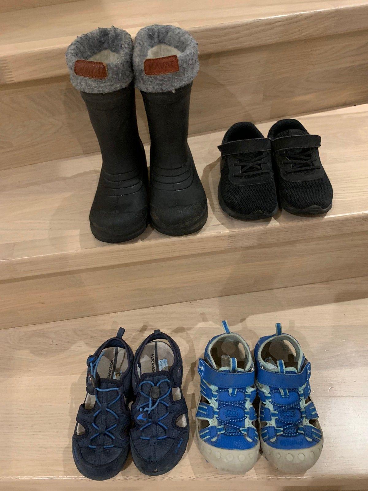 Pent brukte sko str 26. Kavat, Viking og Nike   FINN.no