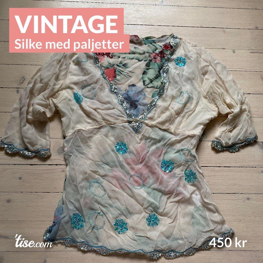 Paljetter og silke | millemay