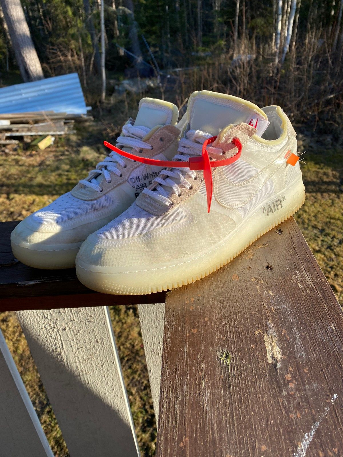 nike air Force 1 off white 2020