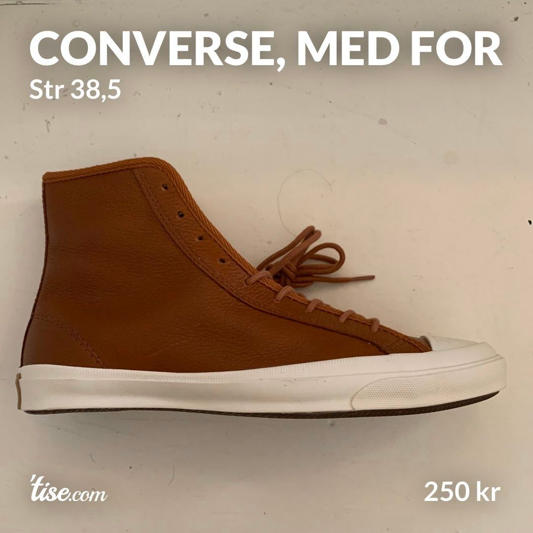 Converse skinnsko, med for   FINN.no