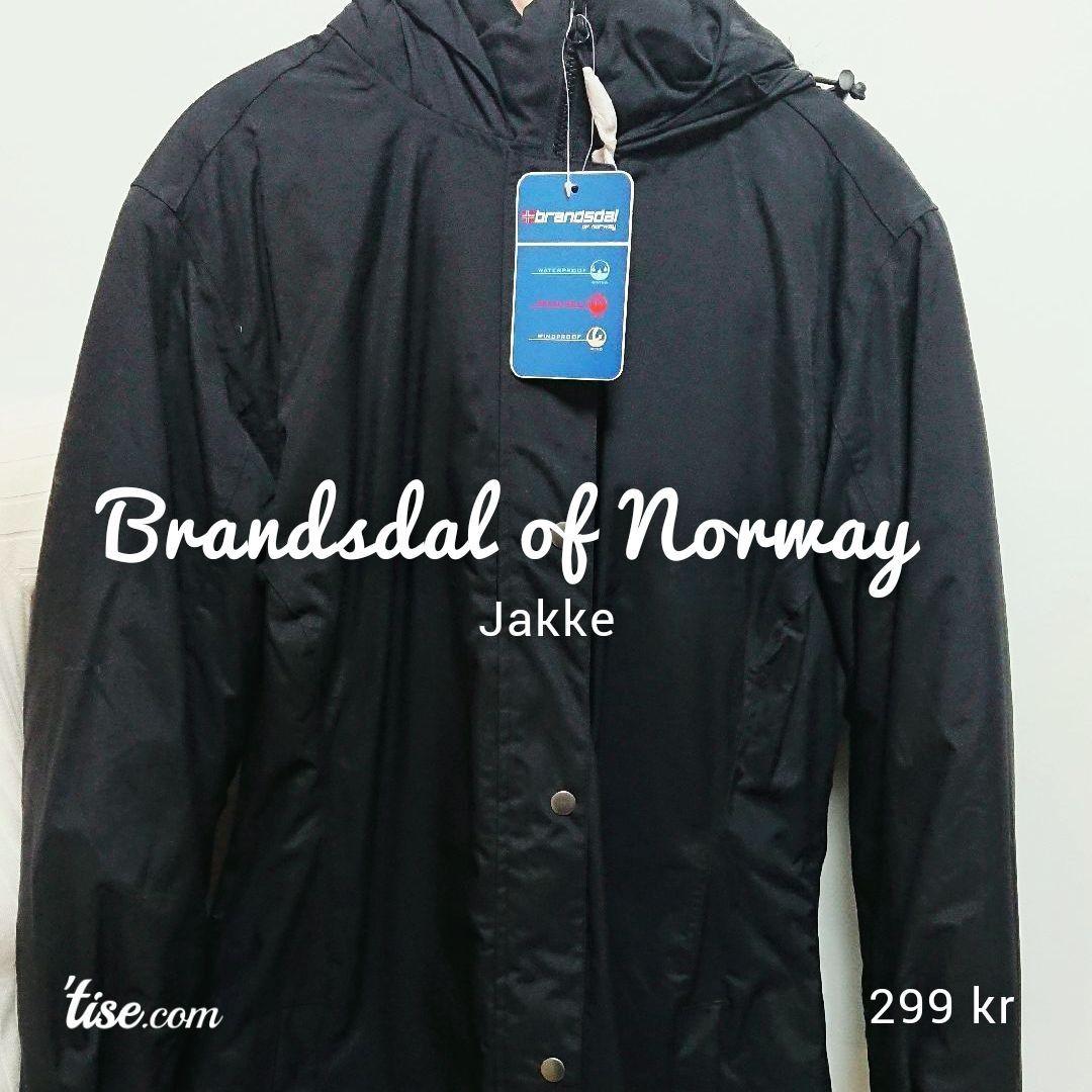 Helt ny Brandsdal of Norway Jakke