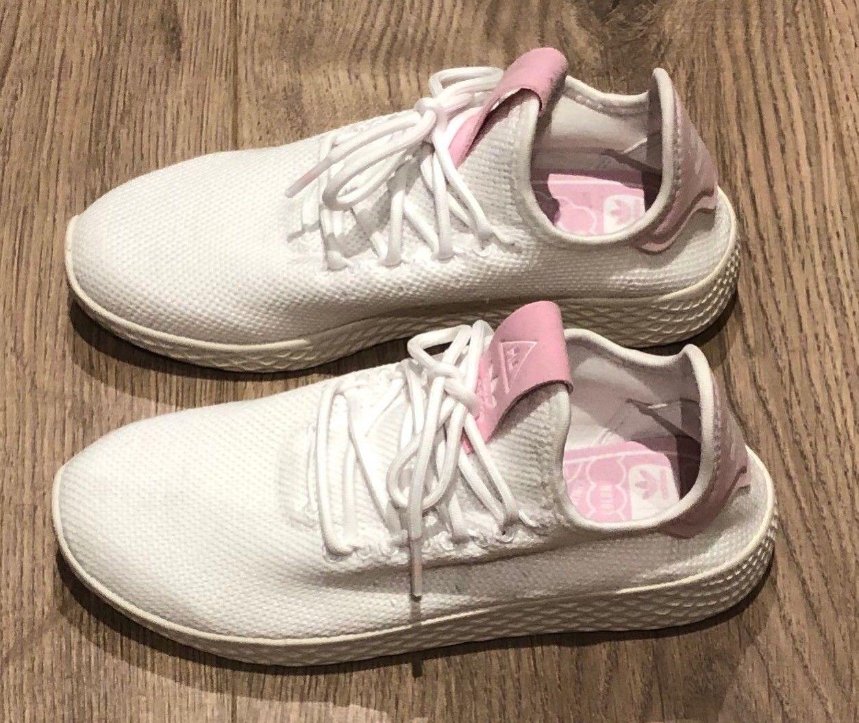 Hviterosa joggesko fra adidas størrelse 36   FINN.no