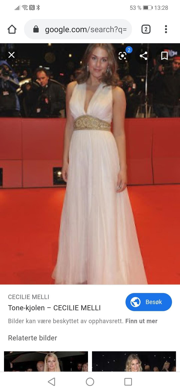 Helt ny Cecilie Melli kjole | FINN.no