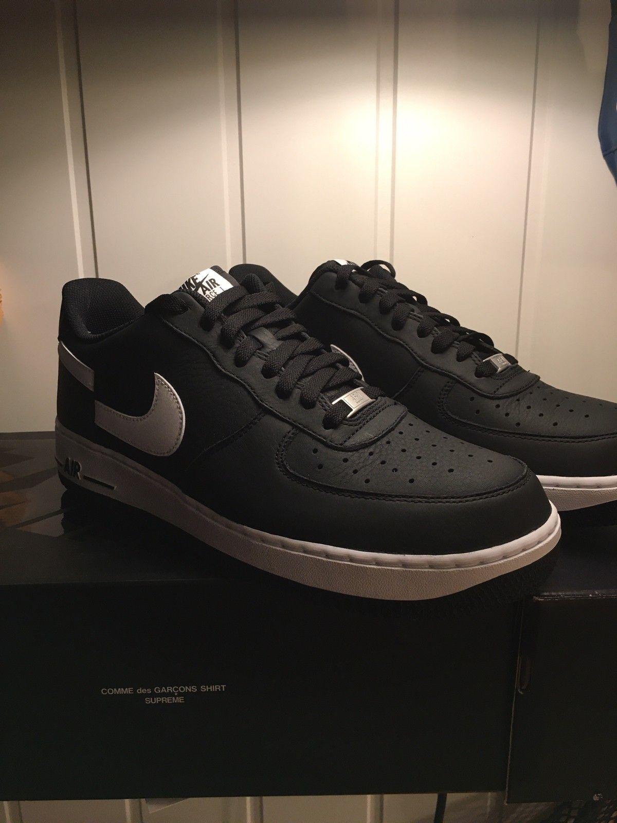 Nike Air Force supreme comme des garçon 11,5   FINN.no