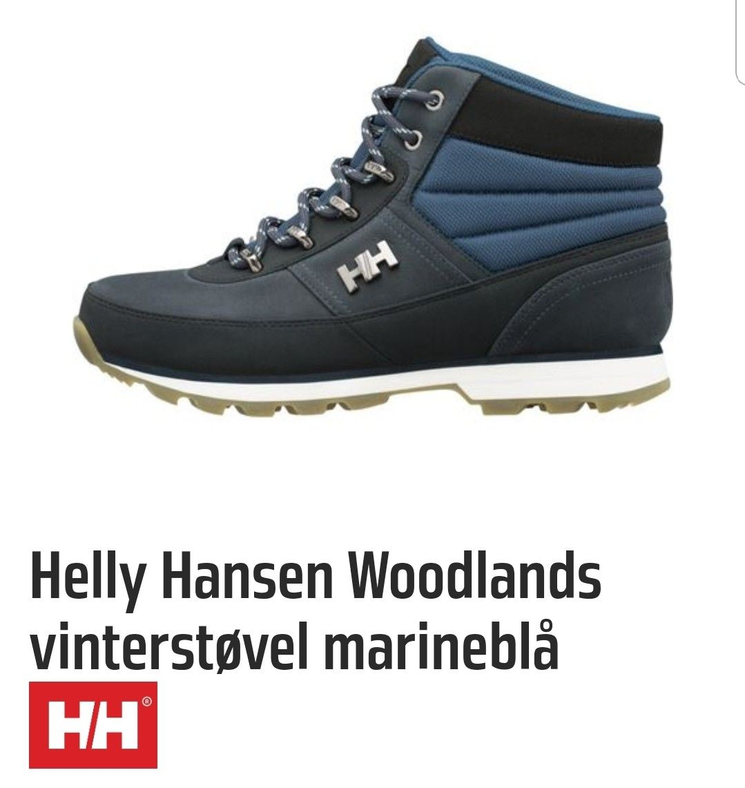 Helly Hansen vinter sko str 39 | FINN.no