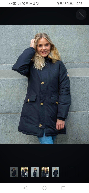 Blå svea miss Smith jakke | FINN.no