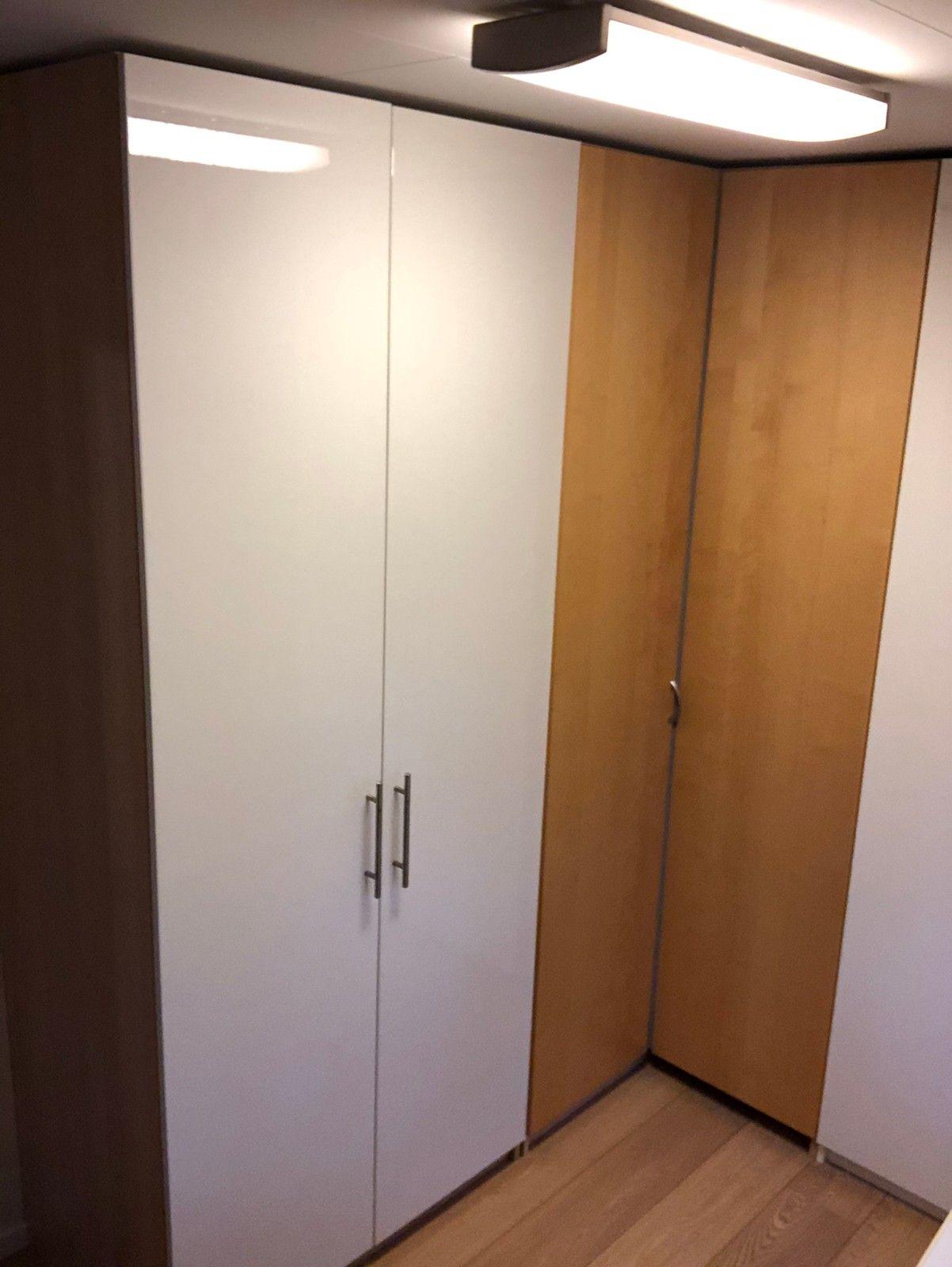 Pax garderobeskap 236cm høyde med Fardal dører   FINN.no