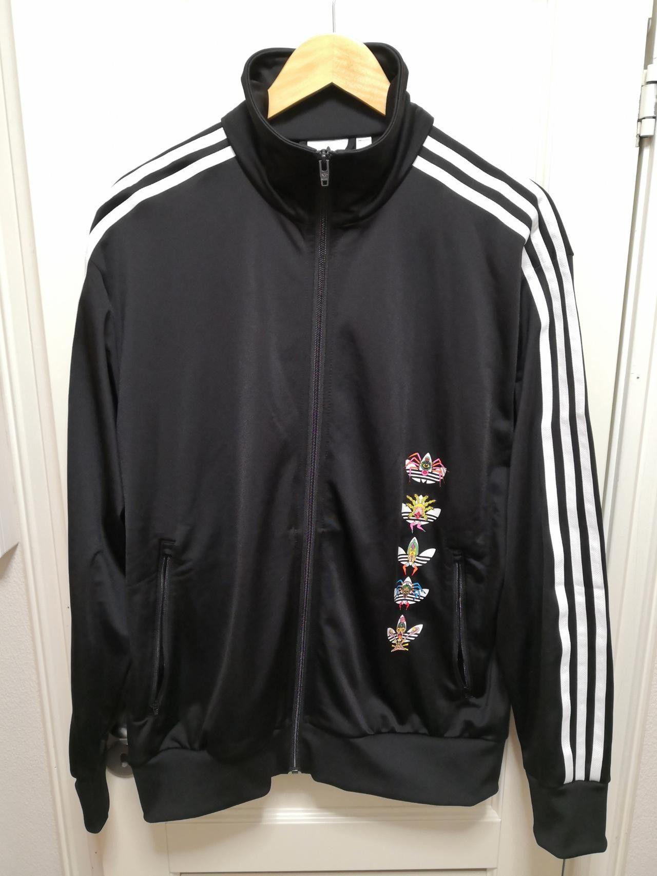 Adidas x Keiichi Tanaami track jacket | FINN.no