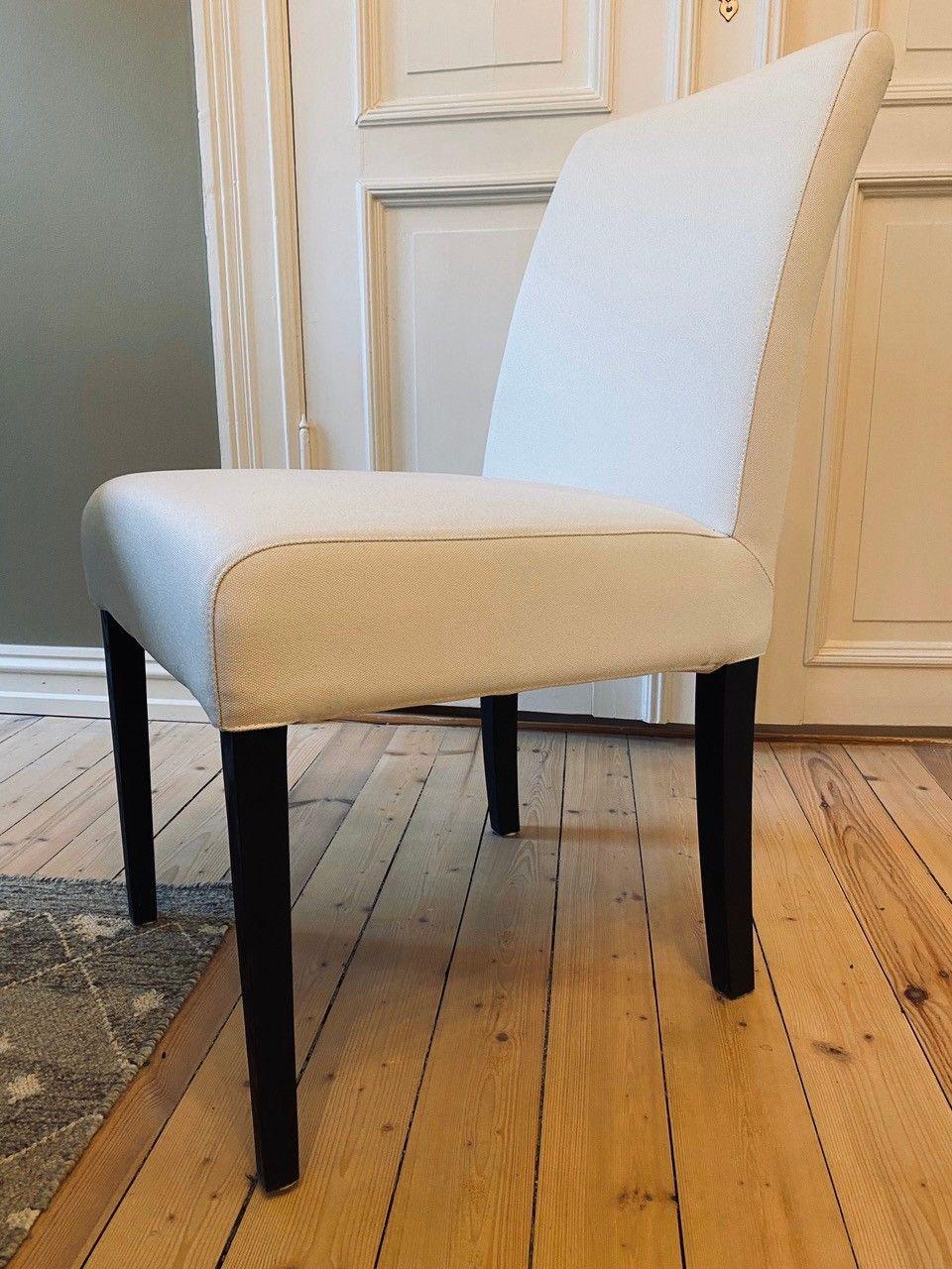 Brukt Grå brune spise stoler ny pris per stol 1895 til salgs