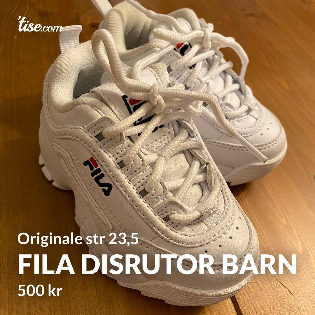 Fila disruptor barn str 23,5 | FINN.no