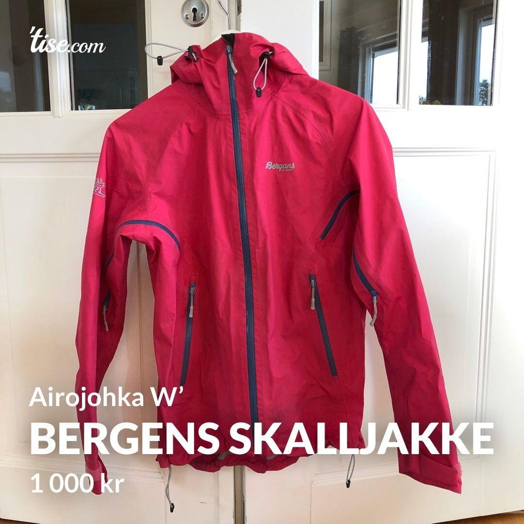 Bergans Airojohka Damejakke str. S | FINN.no