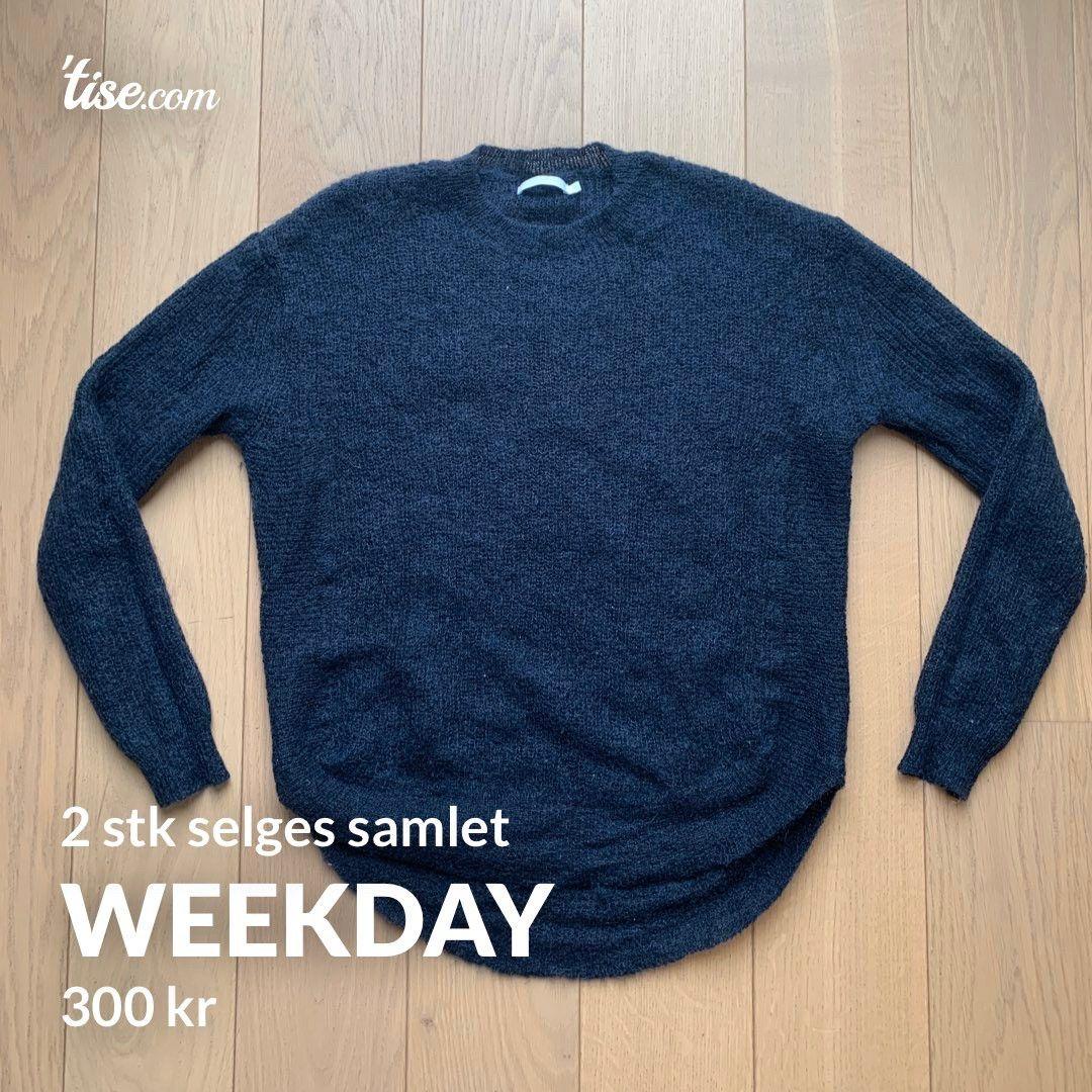 Weekday genser | FINN.no