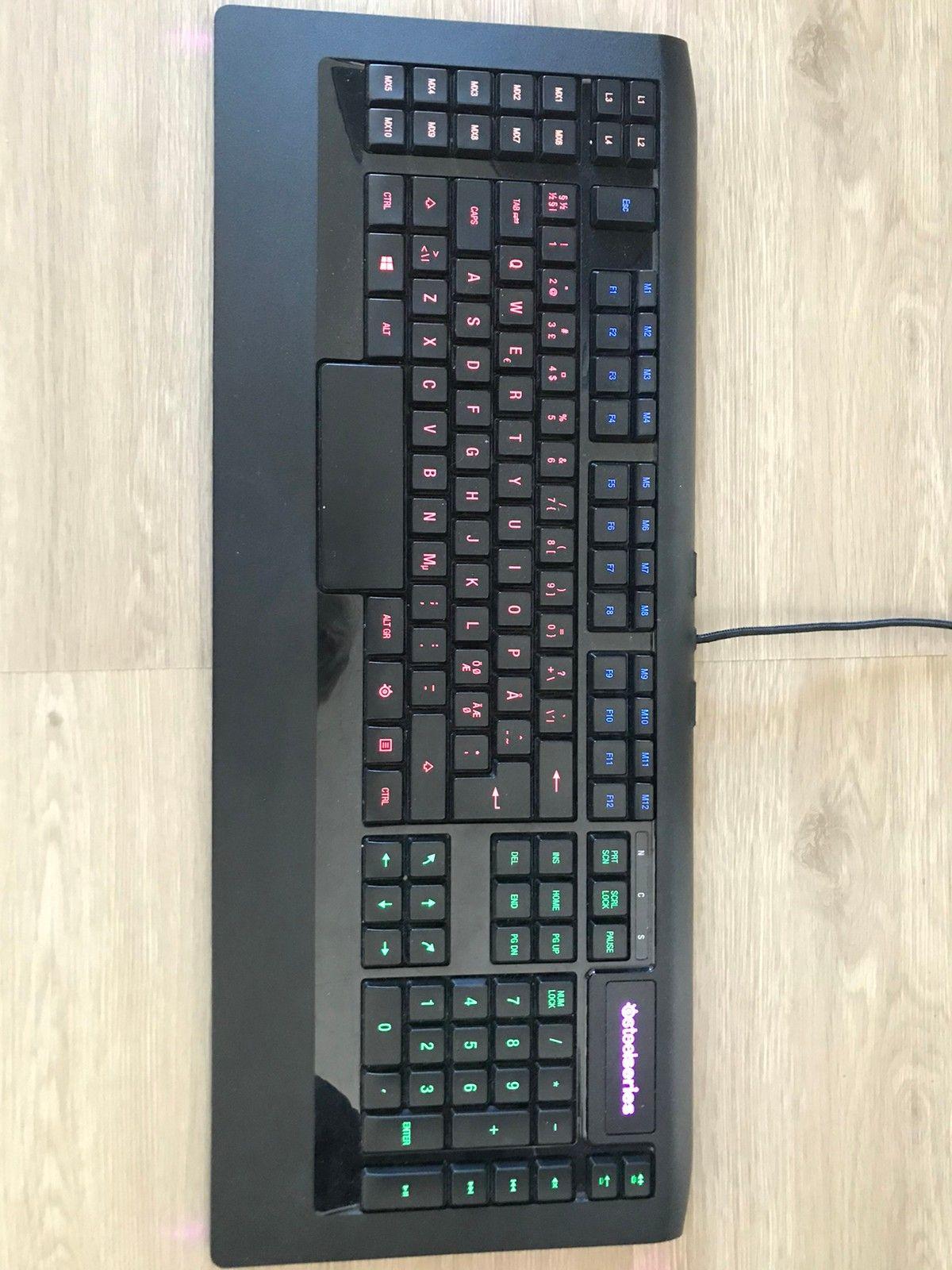 Steelseries apex 350 gaming tastatur | FINN.no