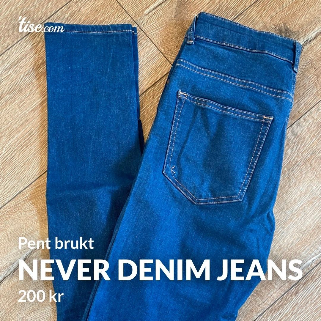 Never Denim Blue Jeans | FINN.no