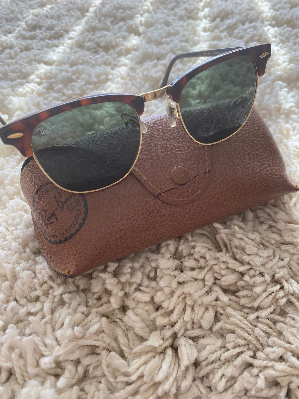 ray ban clubmaster str, ray ban solbriller grey herre
