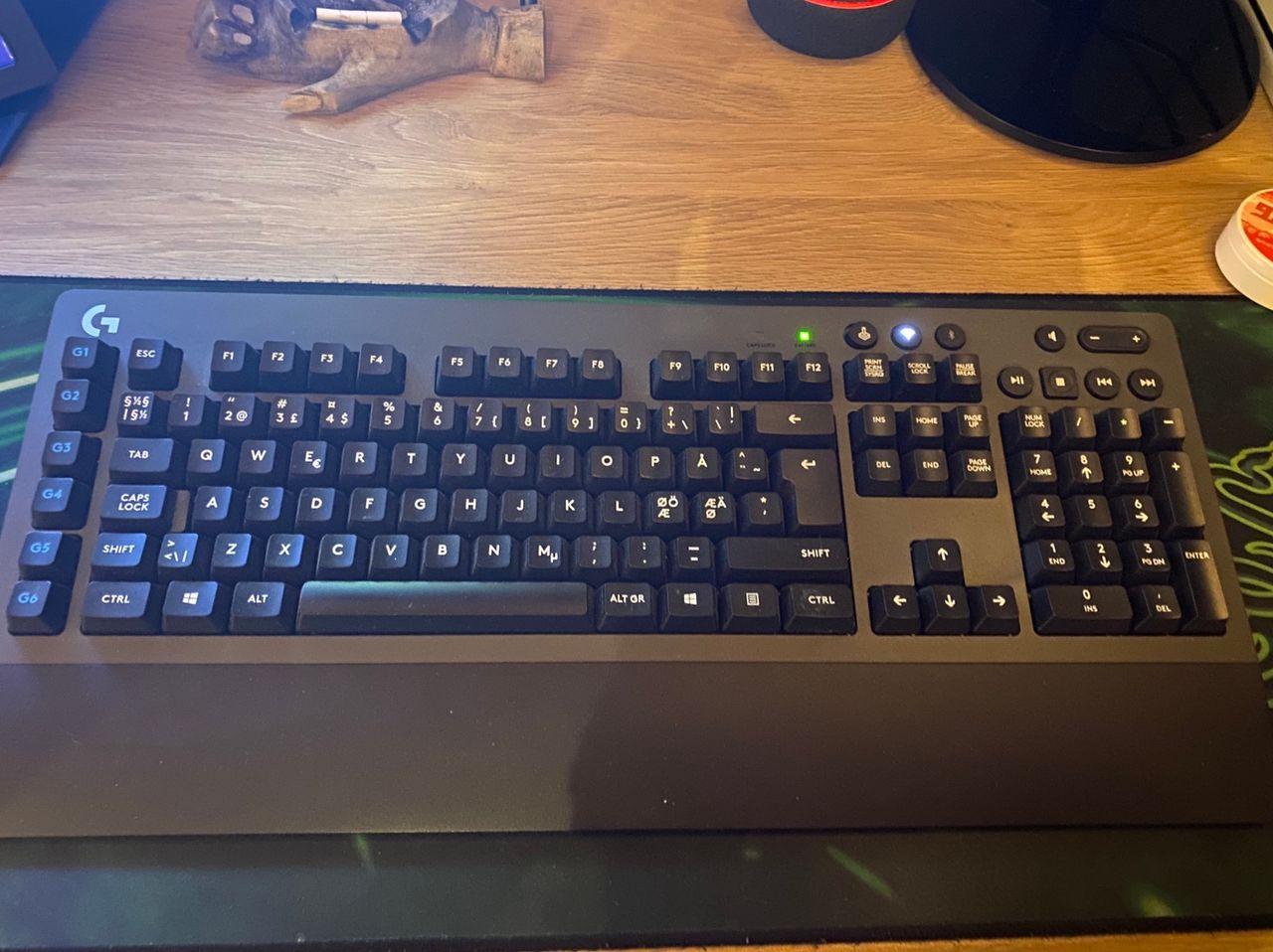 Logitech G614 trådløs gaming tastatur | FINN.no