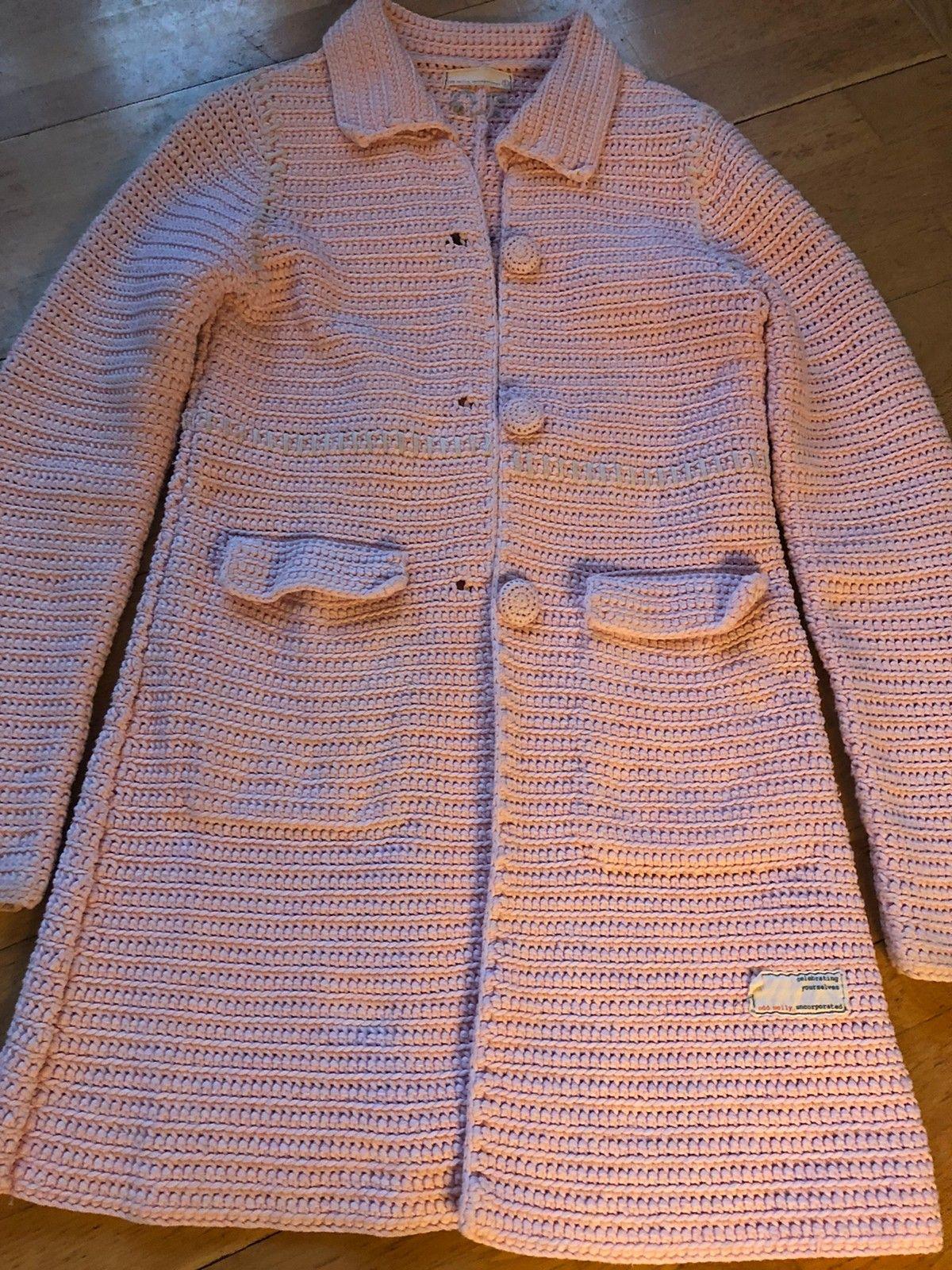 Heklet Odd Molly jakke, lyserosa | FINN.no