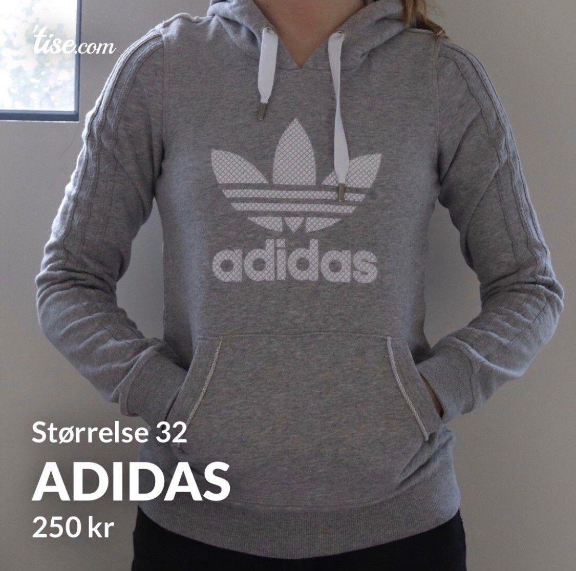 Hettegenser fra Adidas selges, Str. SM | FINN.no