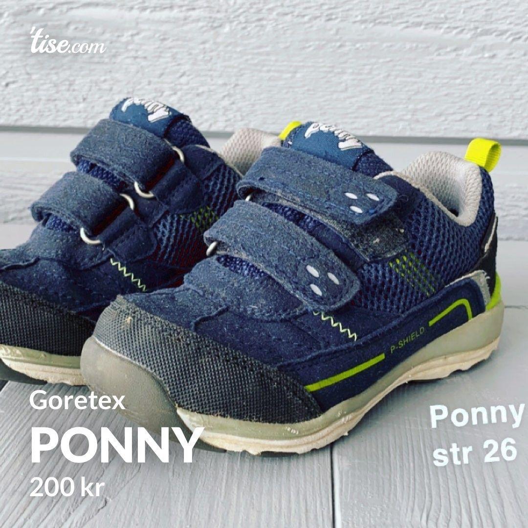 Ponny sko | FINN.no