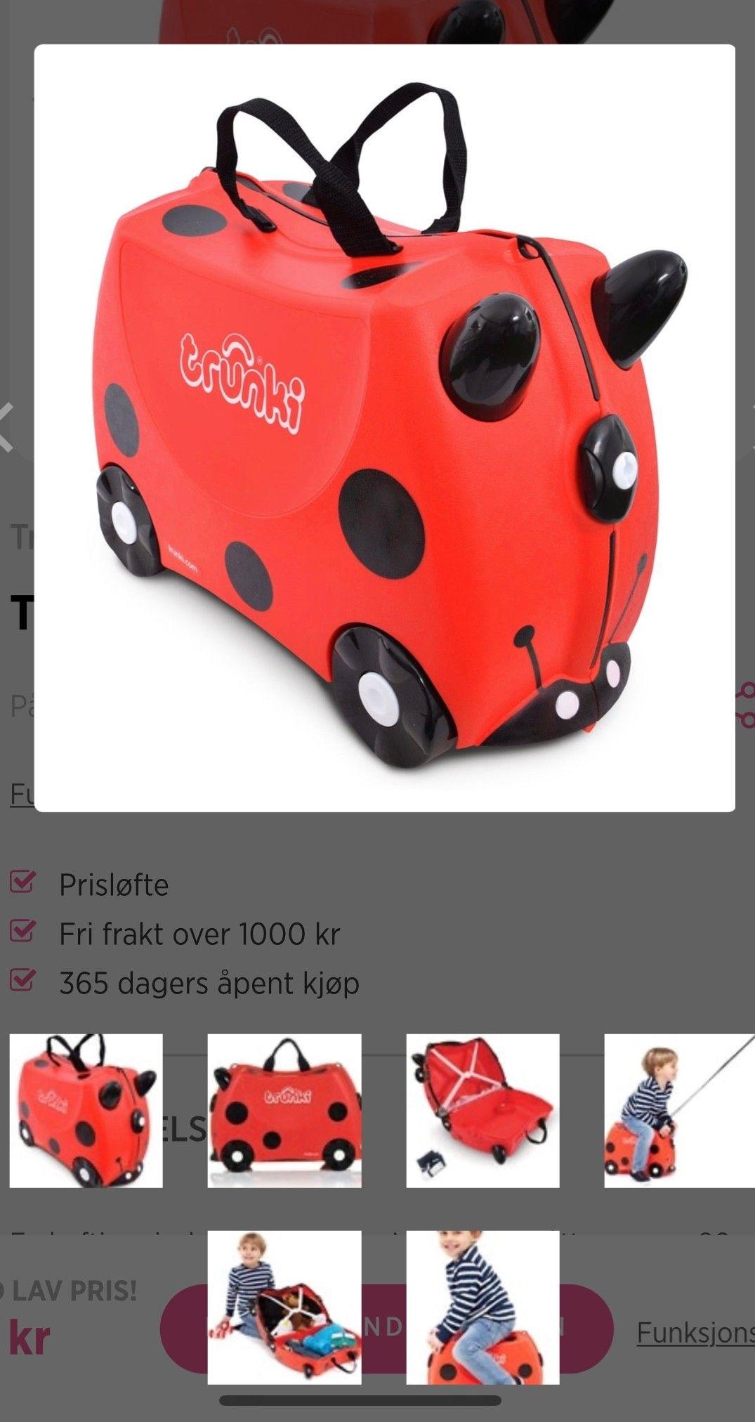 2 stk kofferter til salgs til hbo | FINN.no