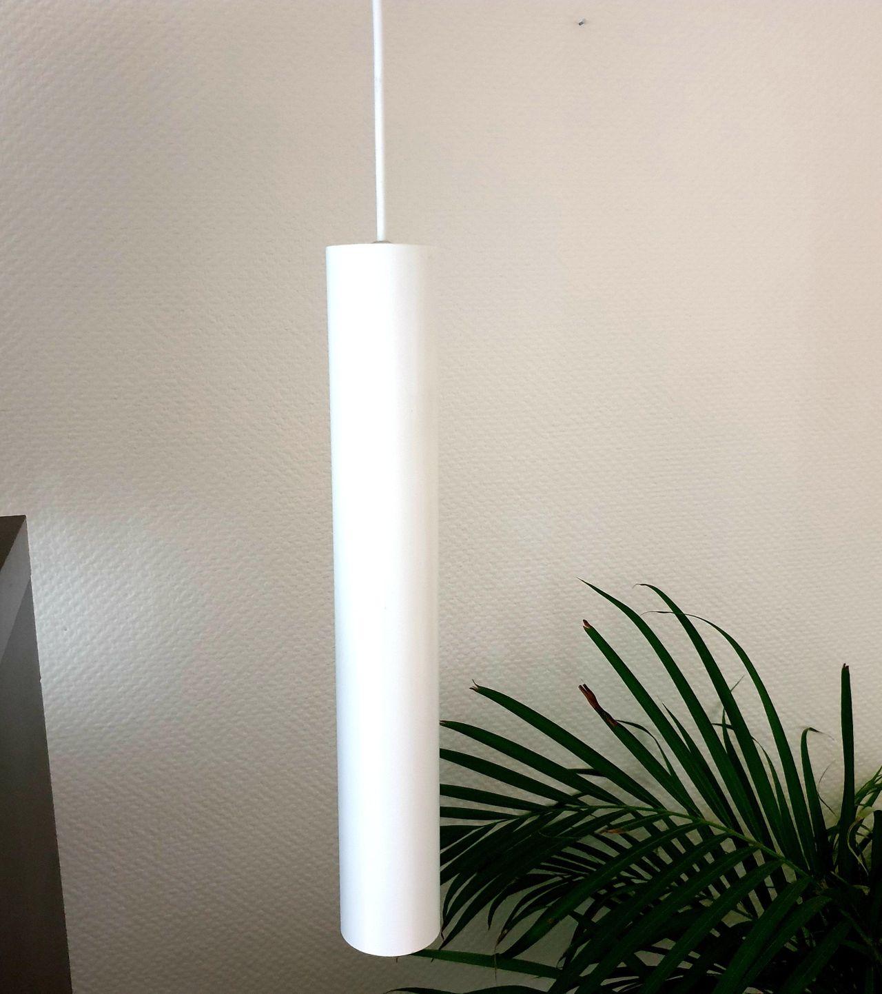 4 stk XAL Tula Micro pendellampe i hvitt, høyde 30cm, Ø=4