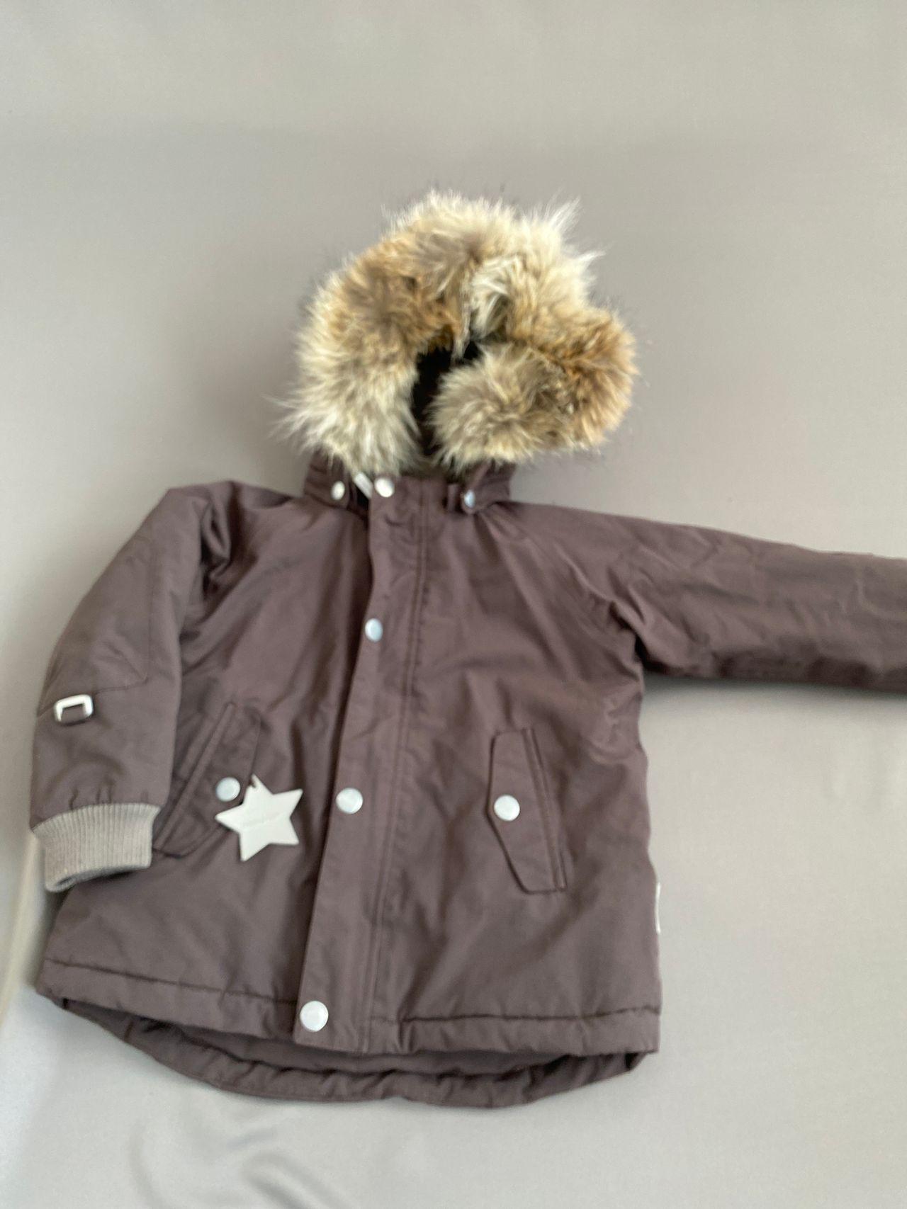 brun mini a ture jakke