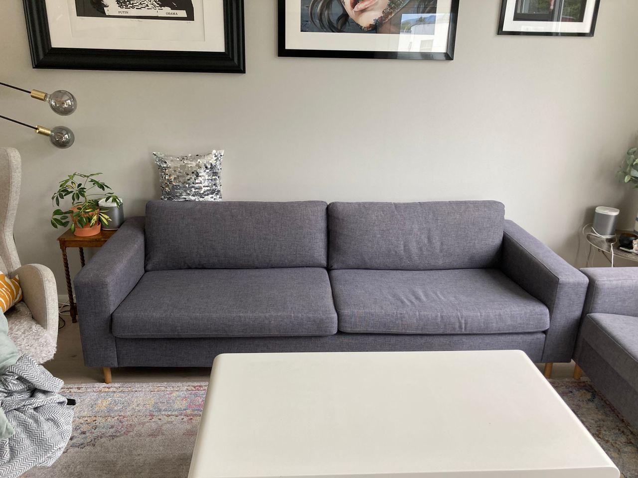 Bolia Cloud 3 seter sofa + stor puff | FINN.no