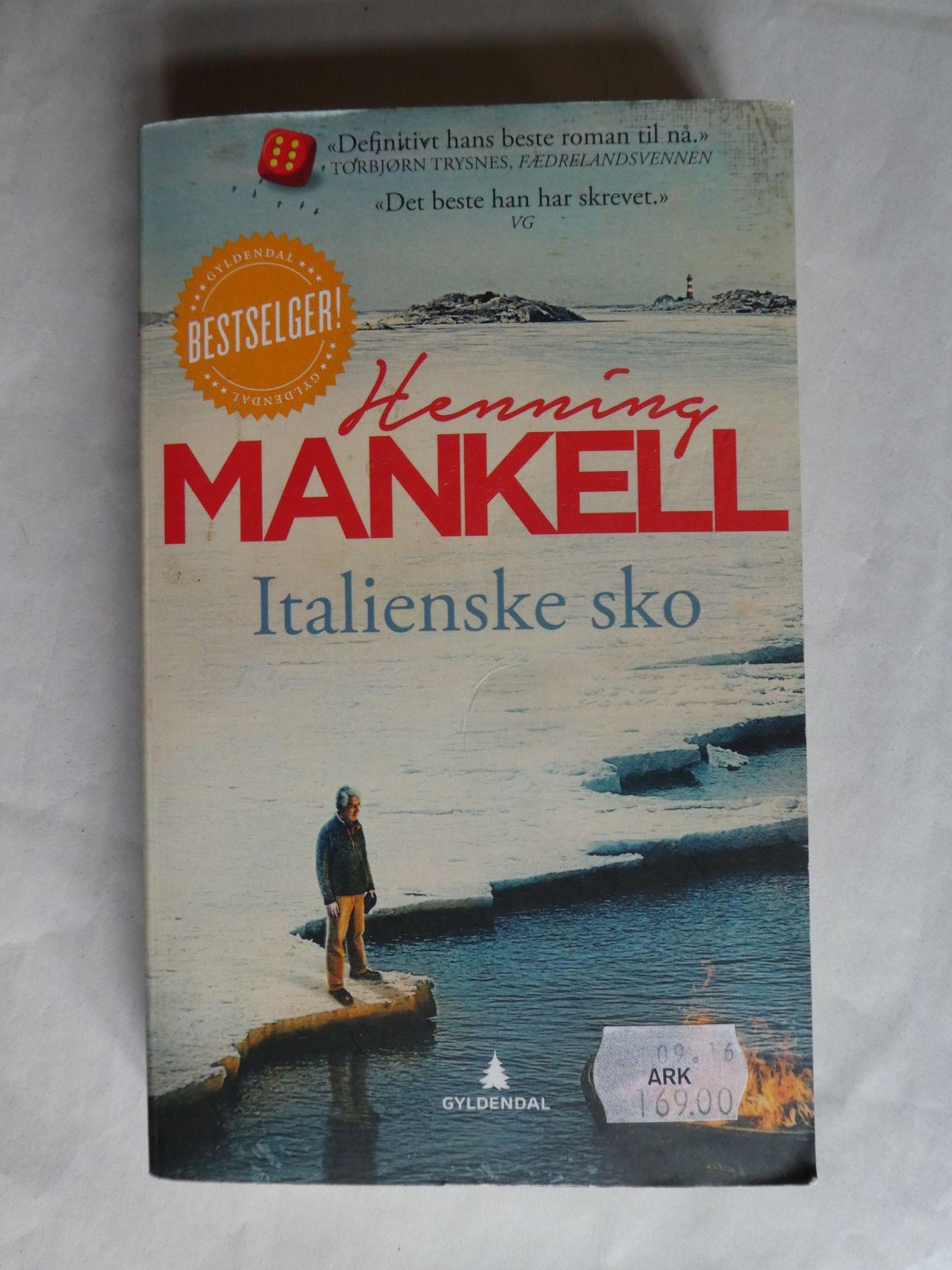 Italienske sko av Henning Mankell