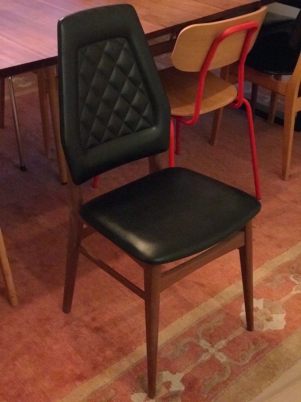 Retrovintage stoler i teak | FINN.no