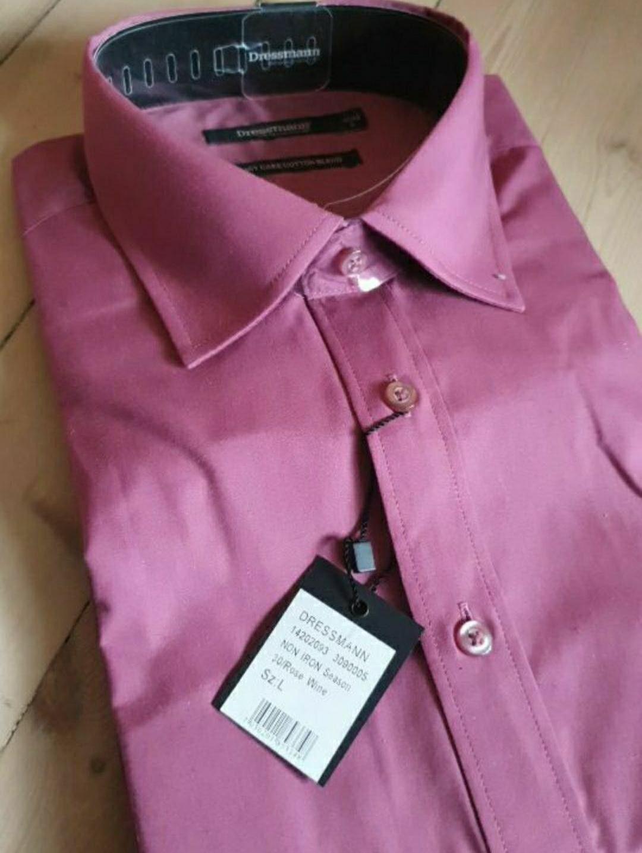 kortermet skjorte dressmann