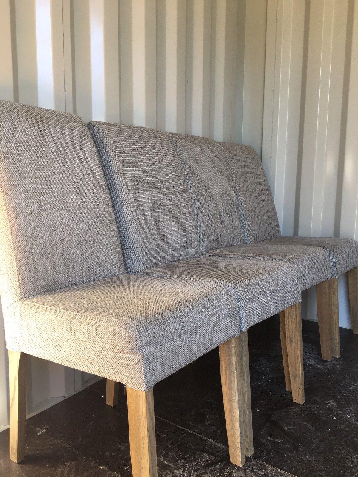 Grå Nowe spisestoler fra A møbler | FINN.no