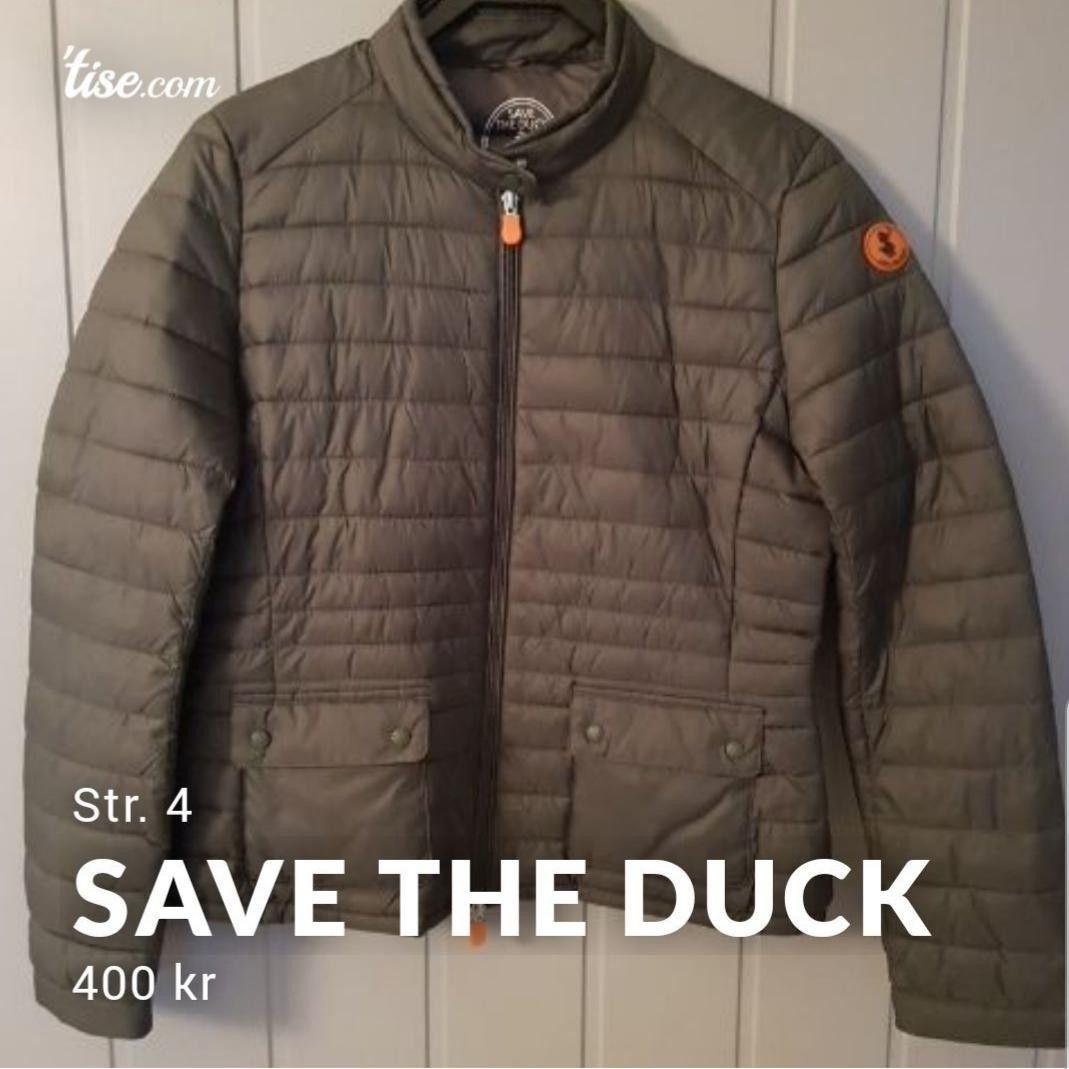 Save the duck dunjakke   FINN.no