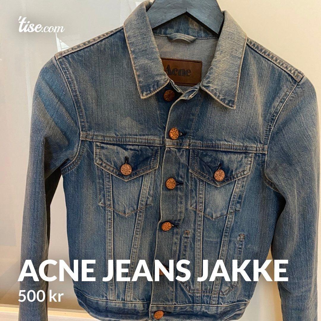 ACNE Denim jakke. | FINN.no