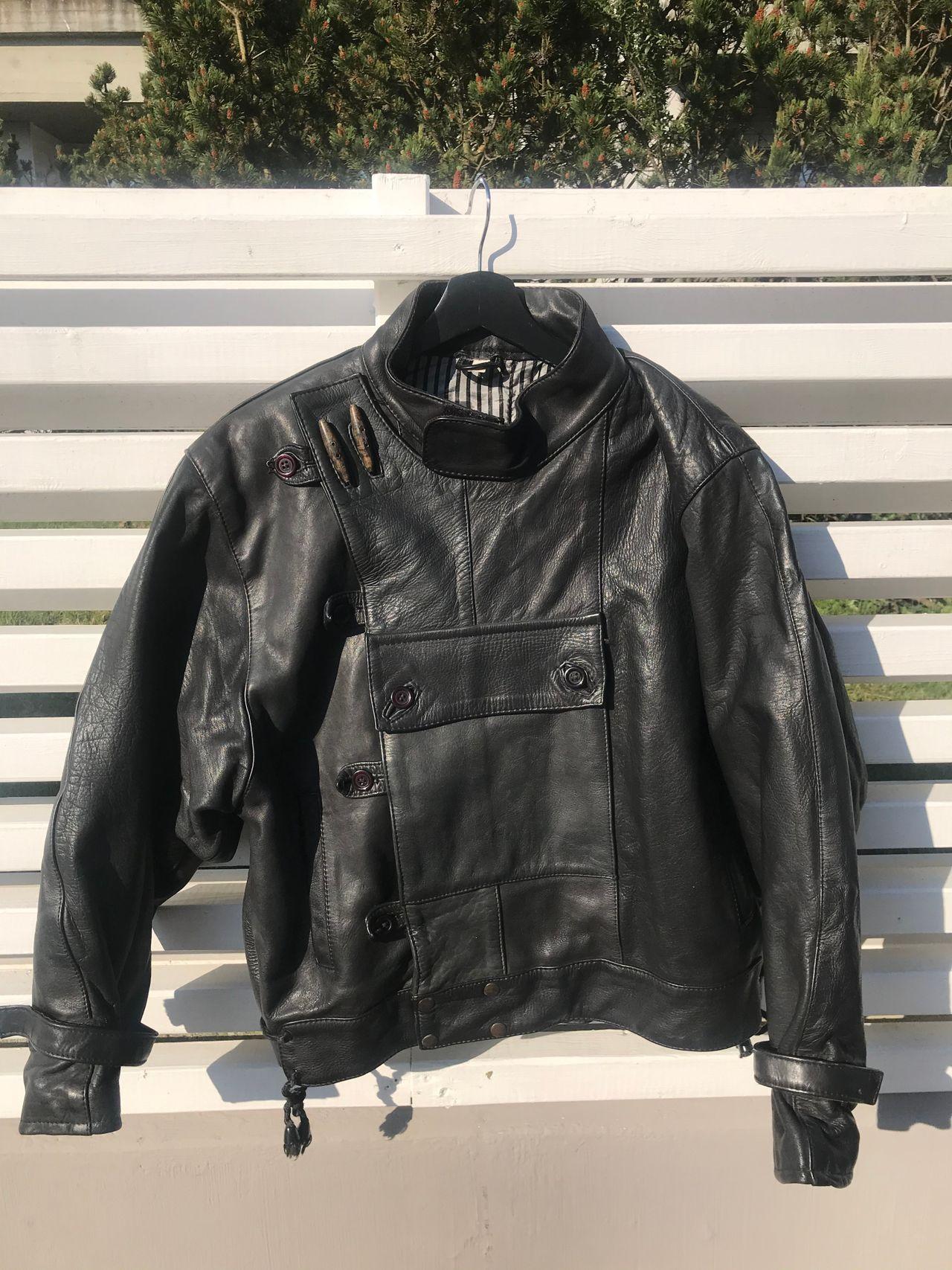 Skinn jakke med Kjøpe, selge og utveksle annonser finn den
