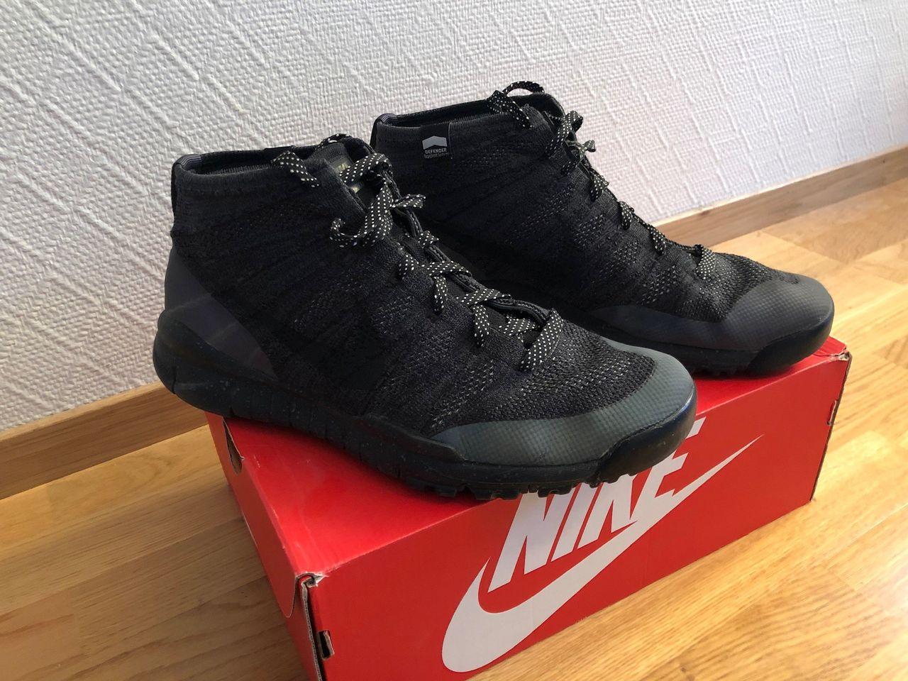 Nike Flyknit Trainer Chukka Fsb | Svart | Sneakers | 625009