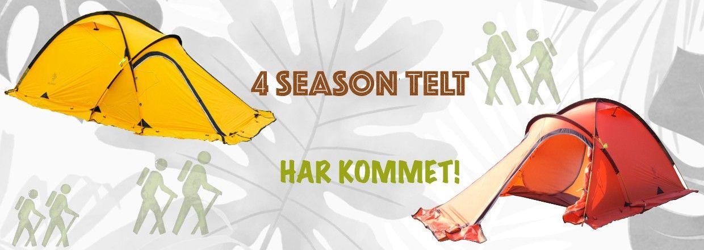 4 season telt, tent, camping, outdoor, friluftsliv | FINN.no