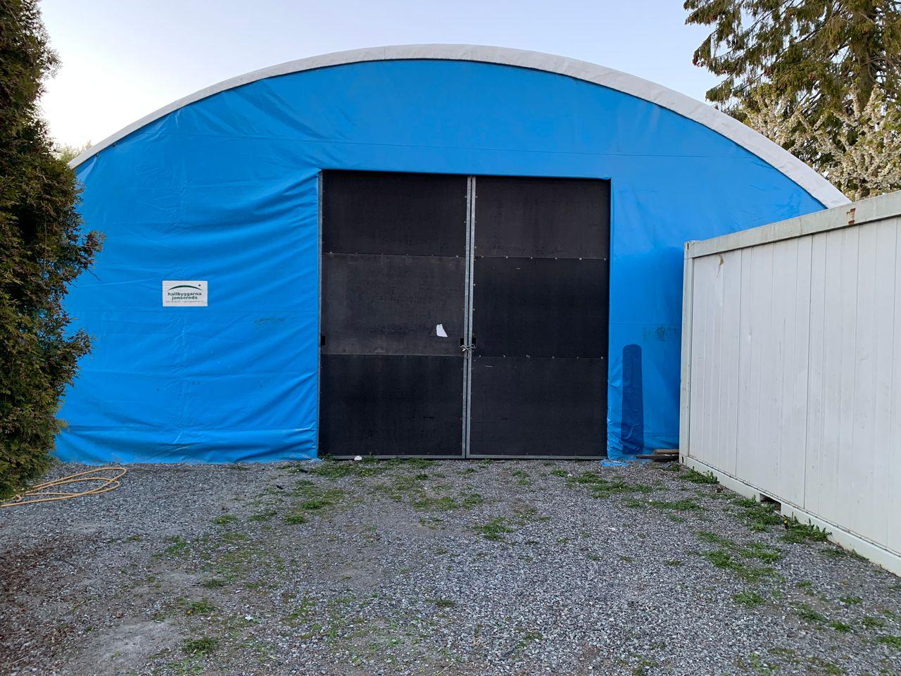 100 m2 Solid Telt Lagerhall , Hallbyggarna Jonsereds O.B.