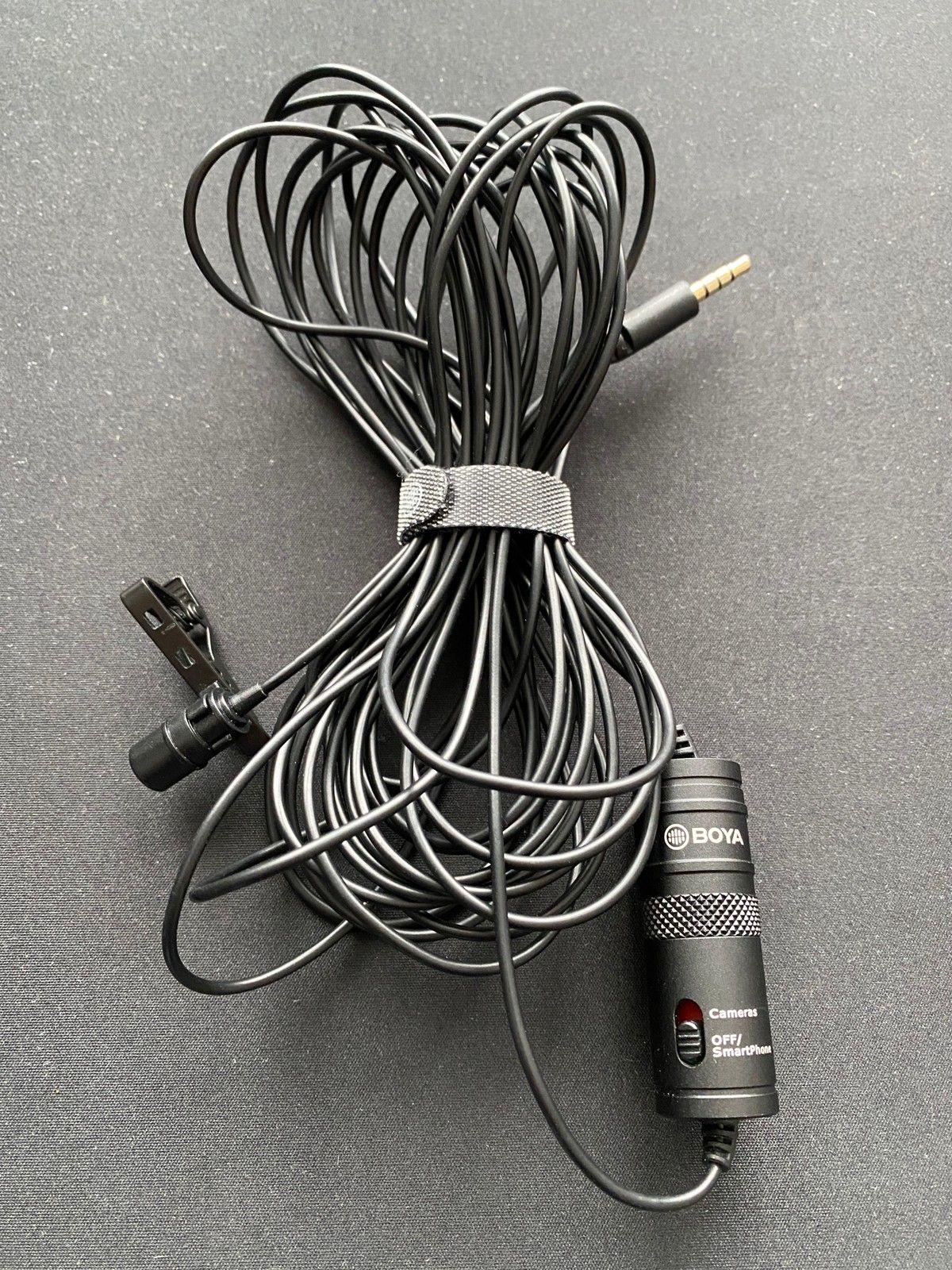 Boya BY M1 Myggmikrofon for mobilen eller kameraet