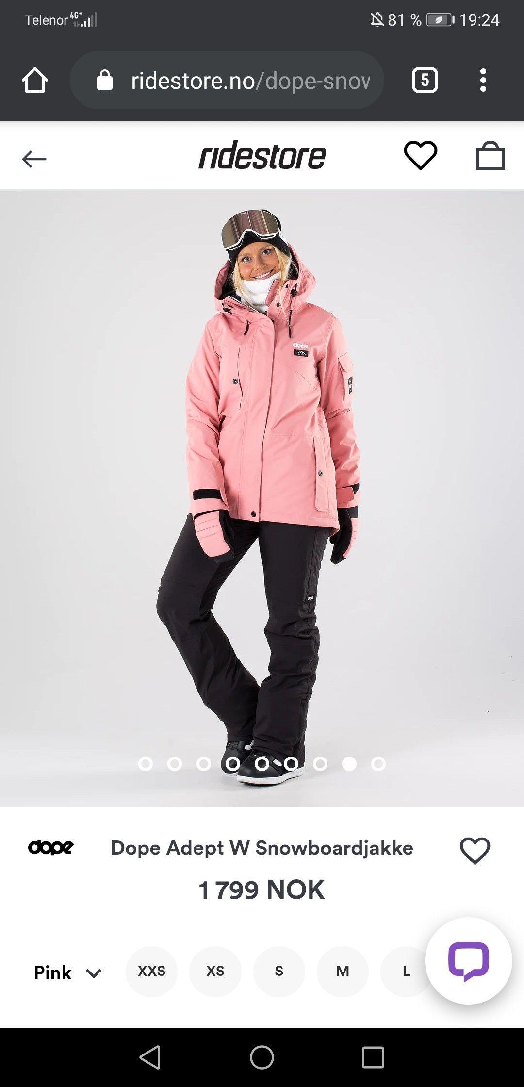 Skijakke og snowboardjakke dame | Finn din favoritt | XXL