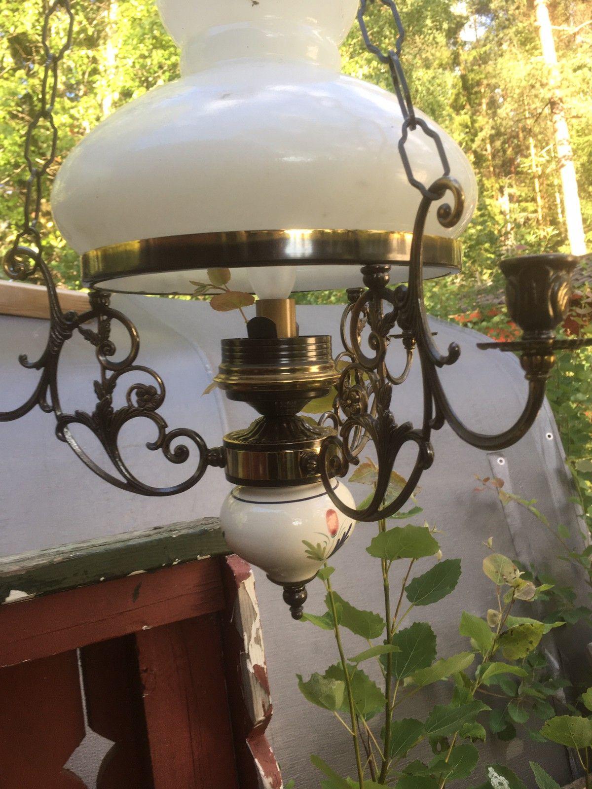 Messing lampe Kjøpe, selge og utveksle annonser finn den