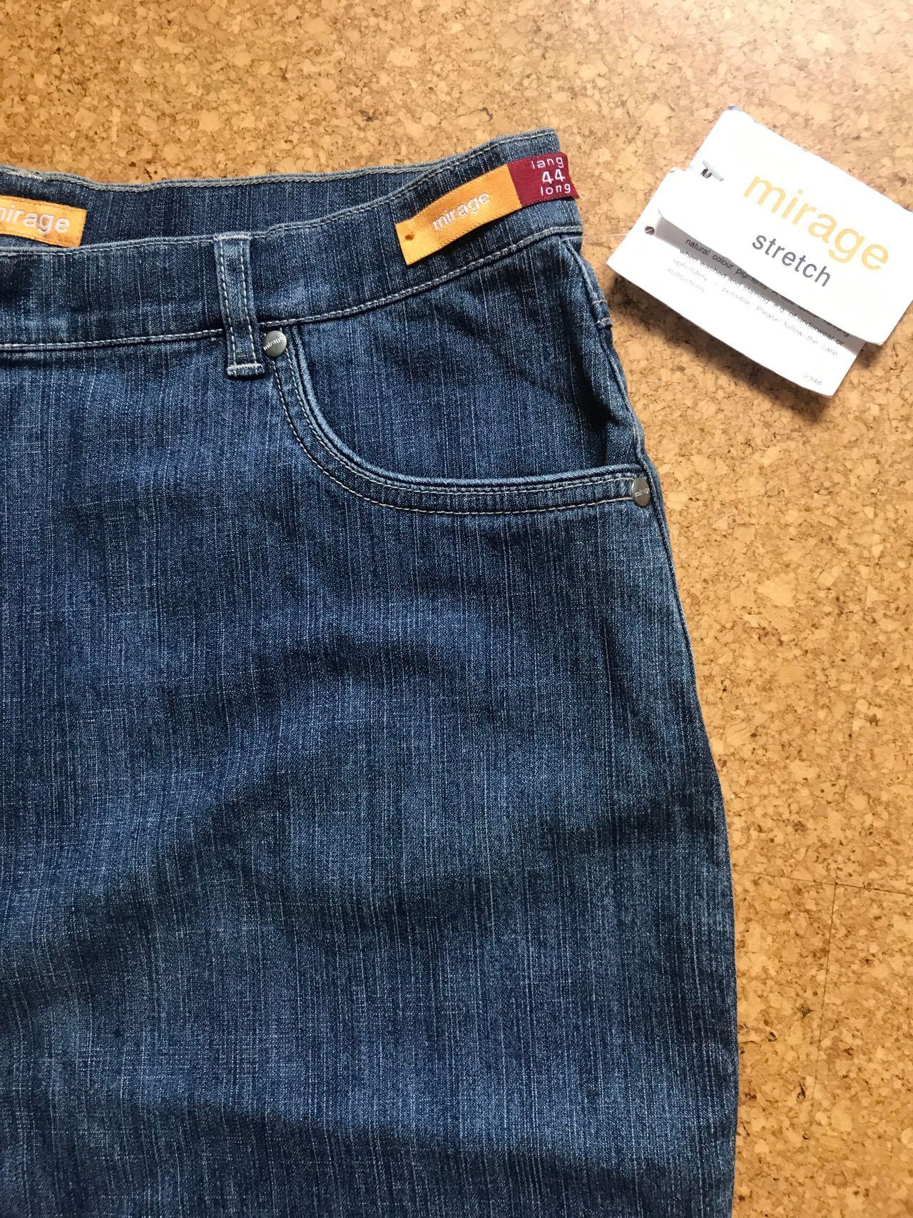 C RO. Pen sort bukse i stor str. og extra lengdeStr. 44